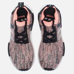 Женские кроссовки adidas Originals NMD R1 Primeknit Salmon Pink/White/Core Black фото- 4