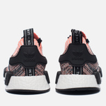 Женские кроссовки adidas Originals NMD R1 Primeknit Salmon Pink/White/Core Black фото- 5