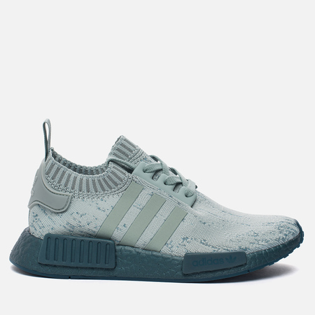 Женские кроссовки adidas Originals NMD R1 Primeknit Sea Crystal/Turquoise/Sea Crystal