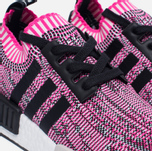 Женские кроссовки adidas Originals NMD R1 Primeknit Shock Pink/Core Black/White фото- 3