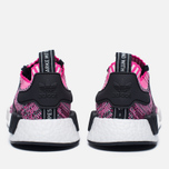 Женские кроссовки adidas Originals NMD R1 Primeknit Shock Pink/Core Black/White фото- 5