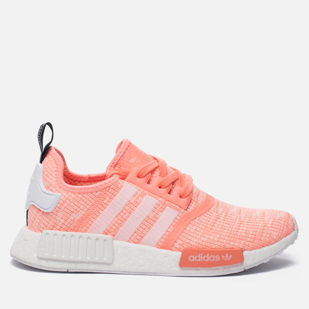 Женские кроссовки adidas Originals NMD R1 Sun Glow/White/Haze Coral