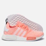 Женские кроссовки adidas Originals NMD R1 Sun Glow/White/Haze Coral фото- 1