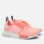 Женские кроссовки adidas Originals NMD R1 Sun Glow/White/Haze Coral фото- 2
