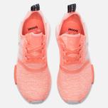 Женские кроссовки adidas Originals NMD R1 Sun Glow/White/Haze Coral фото- 4