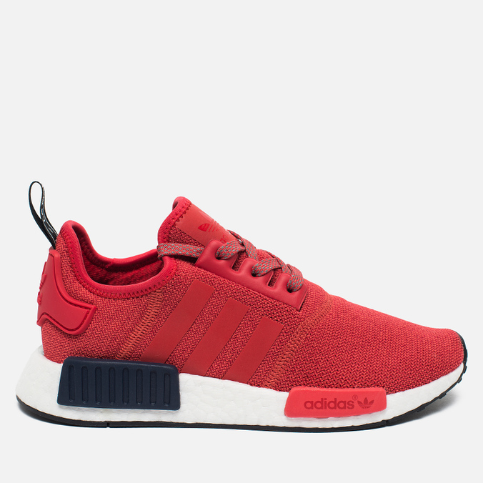 Женские кроссовки adidas Originals NMD R1 Vivid Red/Collegiate Navy/White