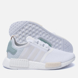 Женские кроссовки adidas Originals NMD R1 White/White/Tactile Green фото- 1