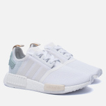 Женские кроссовки adidas Originals NMD R1 White/White/Tactile Green фото- 2