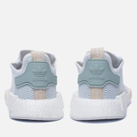 Женские кроссовки adidas Originals NMD R1 White/White/Tactile Green фото- 3