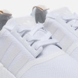 Женские кроссовки adidas Originals NMD R1 White/White/Tactile Green фото- 5
