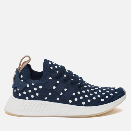 Женские кроссовки adidas Originals NMD R2 Primeknit Collegiate Navy/Collegiate Navy/White