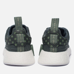 Женские кроссовки adidas Originals NMD R2 Utility Ivy/White/Trace Green фото- 3