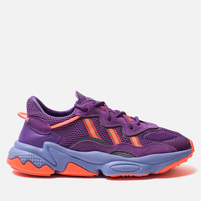 Женские кроссовки adidas Originals Ozweego Active Purple/Solar Orange/Chalk Purple