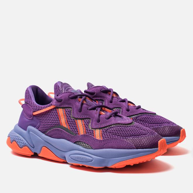 Женские кроссовки adidas Originals Ozweego Active Purple/Solar Orange/Chalk Purple