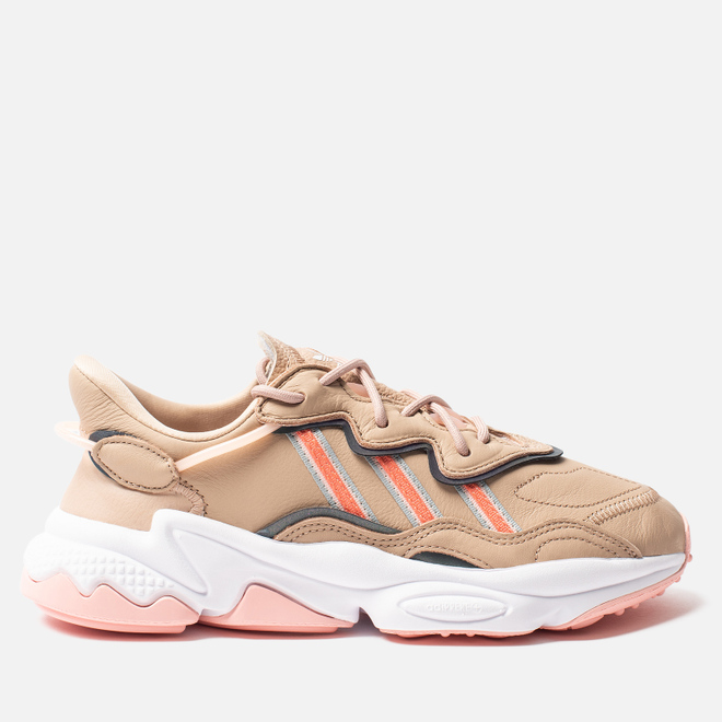 Женские кроссовки adidas Originals Ozweego Ash Pearl/Semi Coral/White