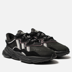 Женские кроссовки adidas Originals Ozweego Core Black/Off White/Legacy Purple