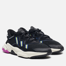 Женские кроссовки adidas Originals Ozweego Core Black/Solar Green/Vivid Pink фото- 0