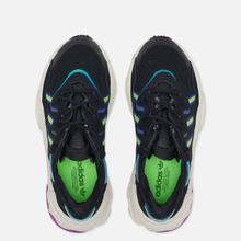 Женские кроссовки adidas Originals Ozweego Core Black/Solar Green/Vivid Pink фото- 1
