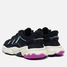 Женские кроссовки adidas Originals Ozweego Core Black/Solar Green/Vivid Pink фото- 2
