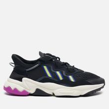 Женские кроссовки adidas Originals Ozweego Core Black/Solar Green/Vivid Pink фото- 3