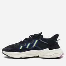 Женские кроссовки adidas Originals Ozweego Core Black/Solar Green/Vivid Pink фото- 5