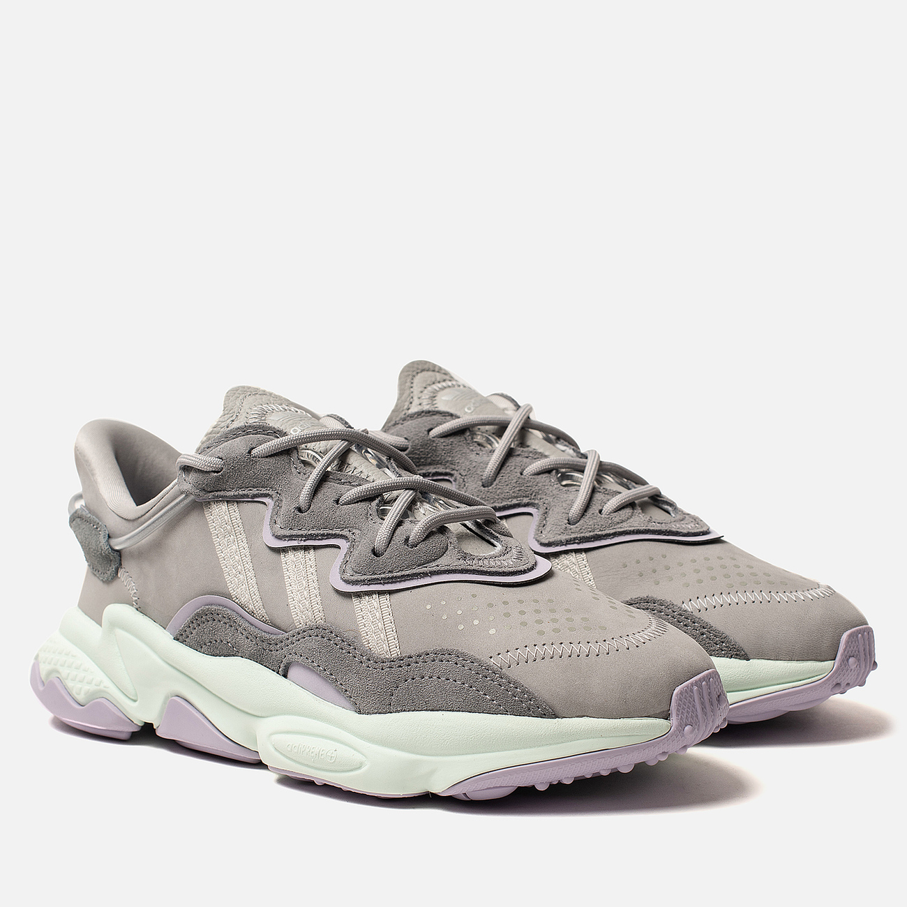 Женские кроссовки adidas Originals Ozweego Grey Two/Grey One/Dash Green