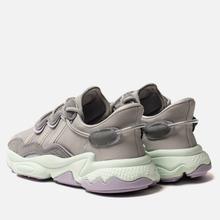 Женские кроссовки adidas Originals Ozweego Grey Two/Grey One/Dash Green фото- 2