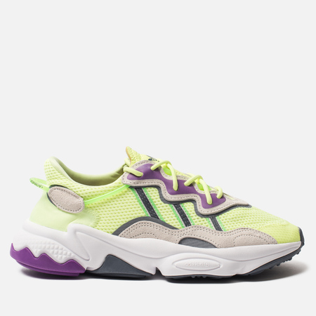 4d721c82cc2a adidas Originals Женские кроссовки Ozweego Hi-Res Yellow/Orchid Tint/Shock  Lime
