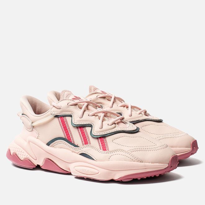 Женские кроссовки adidas Originals Ozweego Icey Pink/Real Pink/Trace Maroon