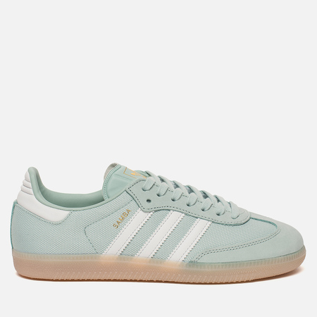 Женские кроссовки adidas Originals Samba Ash Green/Crystal White/Linen
