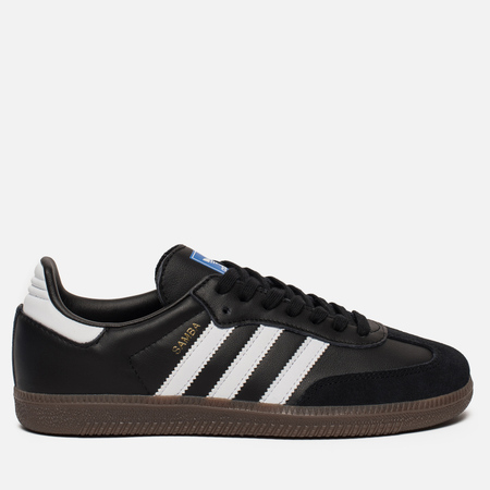 Женские кроссовки adidas Originals Samba OG Core Black/White/Gum
