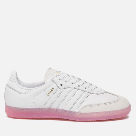 Женские кроссовки adidas Originals Samba White/White/Easy Pink