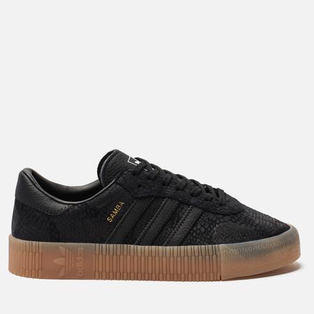 Женские кроссовки adidas Originals Sambarose Core Black/Core Black/Gum