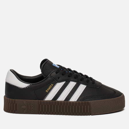 Женские кроссовки adidas Originals Sambarose Core Black/White/Gum