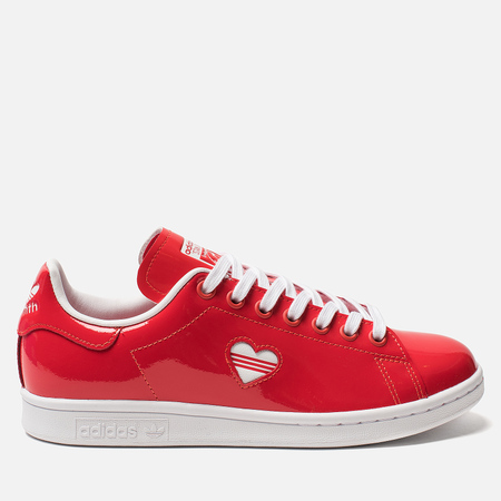 Женские кроссовки adidas Originals Stan Smith Act Red/White/Act Red