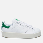 Женские кроссовки adidas Originals Stan Smith Bold White/Green фото- 0
