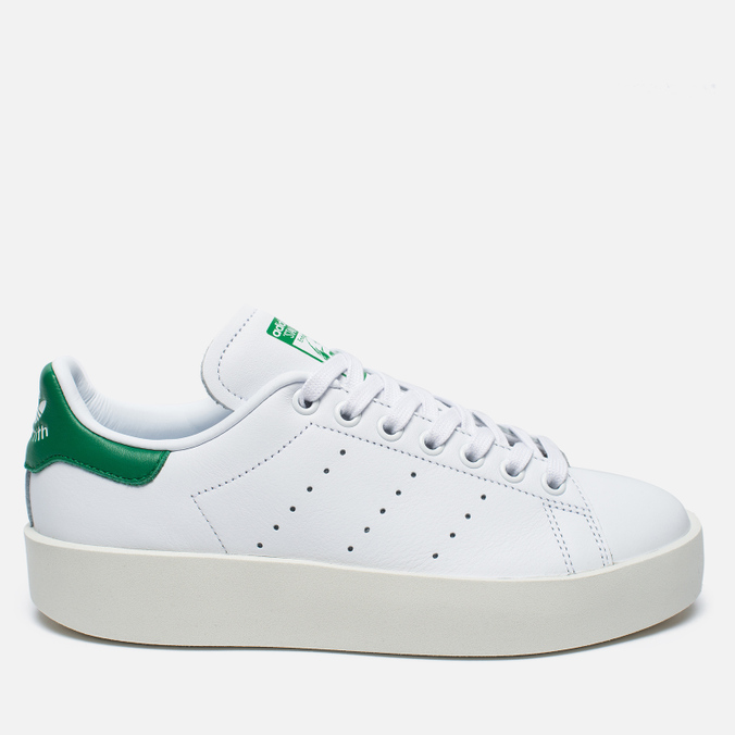 Женские кроссовки adidas Originals Stan Smith Bold White/Green
