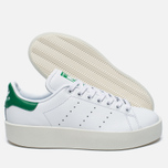 Женские кроссовки adidas Originals Stan Smith Bold White/Green фото- 1