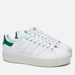 Женские кроссовки adidas Originals Stan Smith Bold White/Green фото- 2