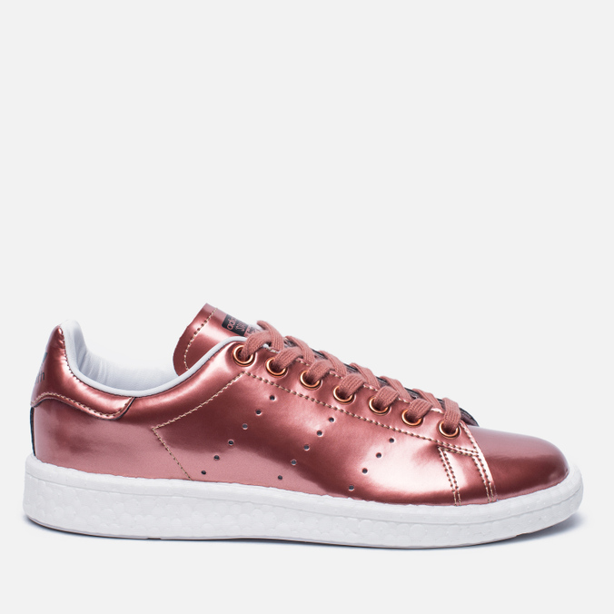Женские кроссовки adidas Originals Stan Smith Boost Metallic Pack Copper