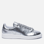 Женские кроссовки adidas Originals Stan Smith Boost Metallic Pack Silver фото- 0