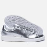 Женские кроссовки adidas Originals Stan Smith Boost Metallic Pack Silver фото- 1