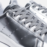 Женские кроссовки adidas Originals Stan Smith Boost Metallic Pack Silver фото- 3