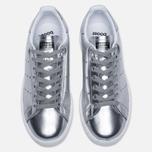Женские кроссовки adidas Originals Stan Smith Boost Metallic Pack Silver фото- 4