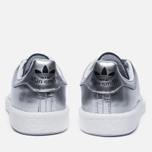 Женские кроссовки adidas Originals Stan Smith Boost Metallic Pack Silver фото- 5