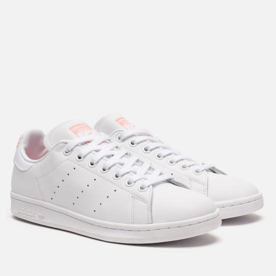 Женские кроссовки adidas Originals Stan Smith Cloud White/Glory Pink/Cloud White