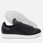 Женские кроссовки adidas Originals Stan Smith Core Black/Core Black фото- 2