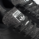 Женские кроссовки adidas Originals Stan Smith Core Black/Core Black фото- 5
