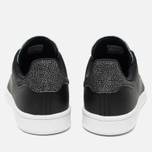 Женские кроссовки adidas Originals Stan Smith Core Black/Core Black фото- 3