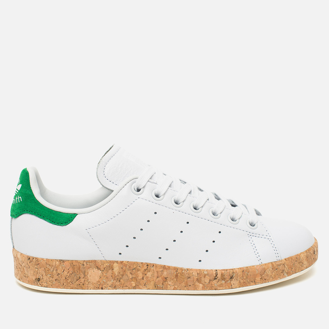 Женские кроссовки adidas Originals Stan Smith Luxe Vintage White/Green